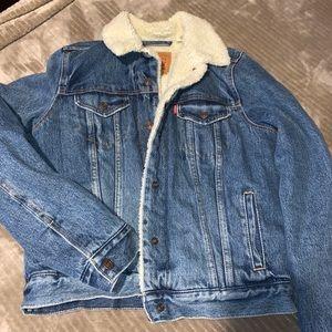 Levi's Sherpa Jean jacket